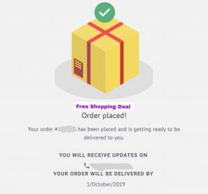 simsim app order place confirmation