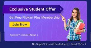 Flipkart Plus Student offer