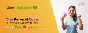 Onecode refer and earn