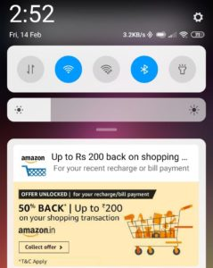 Amazon Shopping Offer claim link