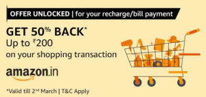Amazon Shopping Offer