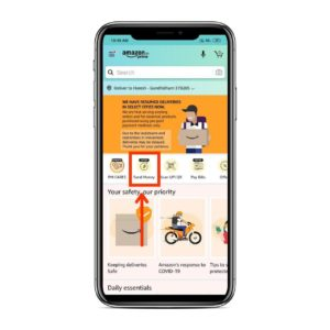 Amazon Pay UPI Register Step 01