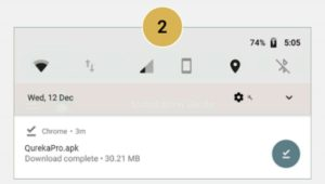 How to Install Qureka Application 03