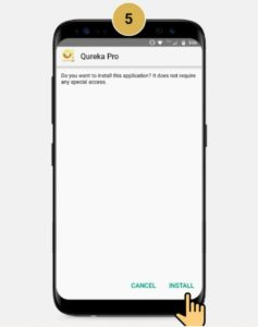 How to Install Qureka Application 05