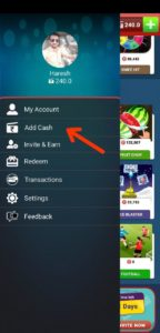 How to Add Cash in BigCash Wallet 01