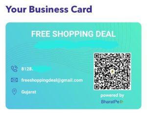 BharatPe Business Card 02
