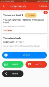 BuzzBreak Refer and Earn 07