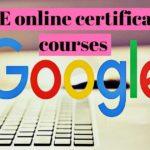 Google Academy Free Courses