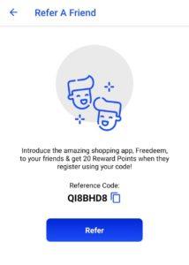 Freedeem App Refer and Earn 04