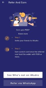 IRCTC iMudra App Refer and Earn 08
