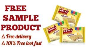 Royal Cracker Sandwich Free Sample