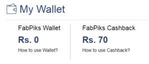 Instant cashback Proof of Fabpiks Free Sample