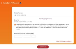 ICICI Credit Card Against Fixed Deposit 04