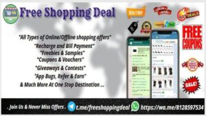 Free Shopping Deal Facebook Group