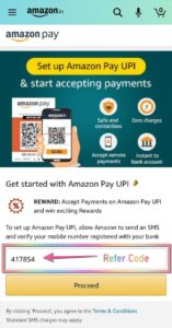 Amazon Pay UPI Register Step 03