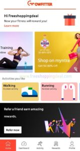 Growfitter App Referral Code 05