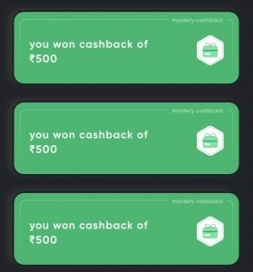 Cred App Earning Proof