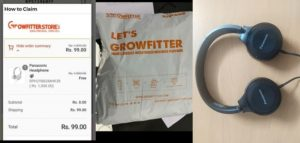 Growfitter App Earning Proof 001