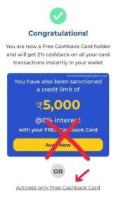 Dhani Free Cashback Card 04
