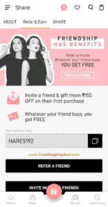Myglamm App Refer and Earn 002