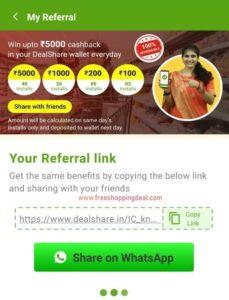 DealShare App Refer and Earn 08