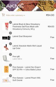 Lakme Free Sample LoOt Offer 03