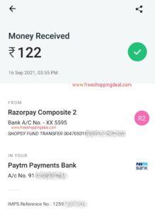 Shospsy App Earning Proof