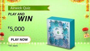 Amazon Airwick Quiz Answers