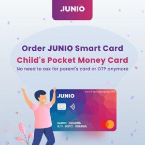Junio Card Order Process A1