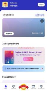 Junio Card Order Process A2